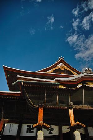 冬の善光寺3