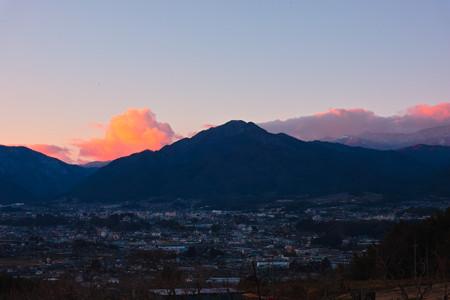 飯田市遠景