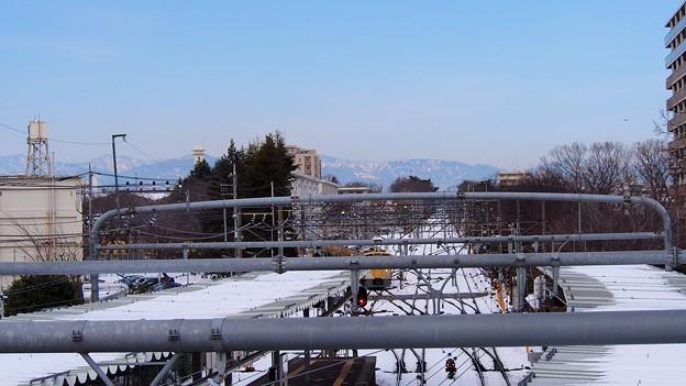 東京の歴史的な大雪の2日後…?