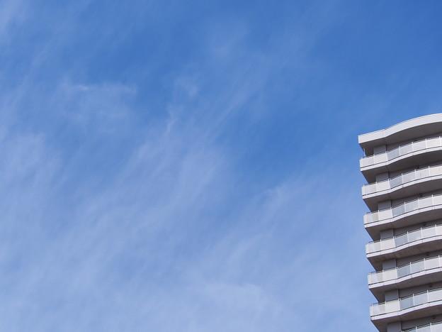 青空と雲?