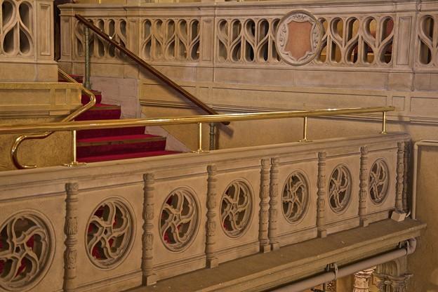 バルコニー席階への階段