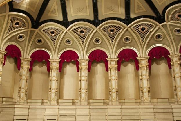 ステージ背景