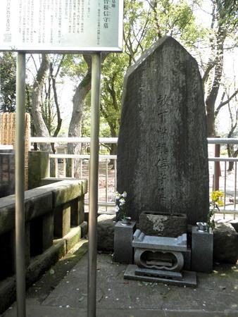 蘆花公園-10粕谷共同墓地b_下曽根信守(牧師)墓