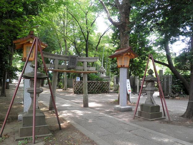 伊豆美神社(狛江)-03二之鳥居