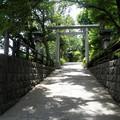 糟嶺神社(入間町)-07明照院横の参道