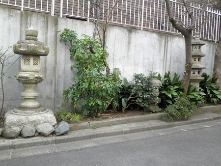 清川神社入口の標識