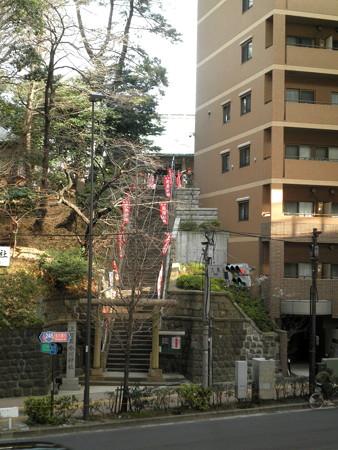 上目黒氷川神社-11歩道橋より