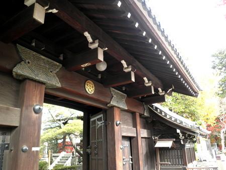 西澄寺-01山門(武家屋敷門←旧蜂須賀家の屋敷門)b