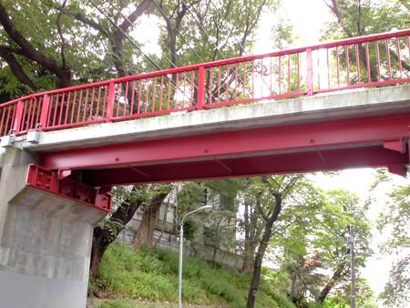 桜坂(大田区田園調布)-02桜橋a