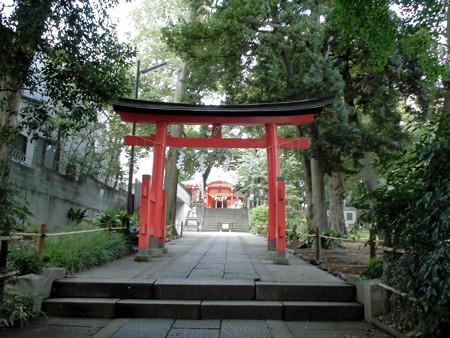 熊野神社-02b二之鳥居・拝殿