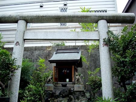 妙光寺(世田谷区奥沢)-04稲荷神社