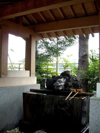 浅間神社-07手水舎
