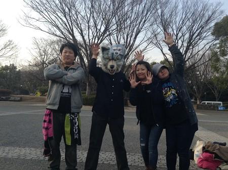 代々木公園イベント広場集合写真3