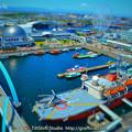 ミニチュア写真 名古屋港