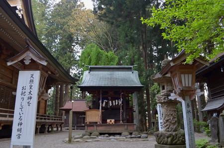 櫛引八幡宮・神明社