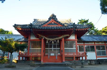 奈多宮-拝殿
