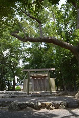 清野井庭神社2