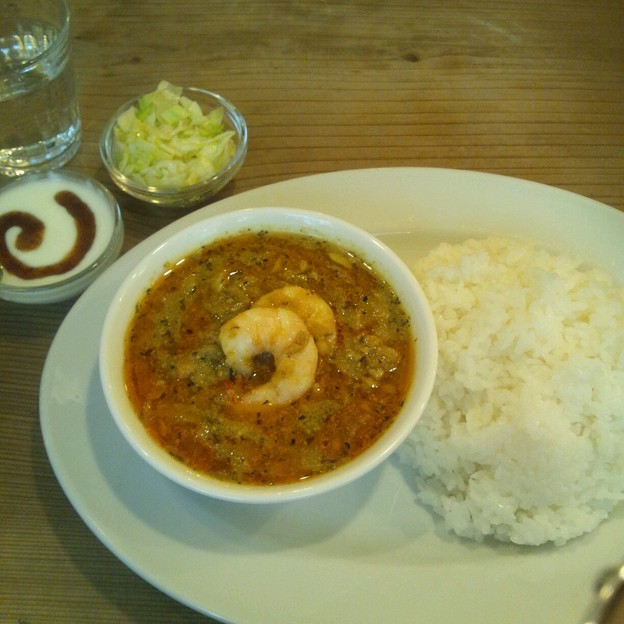 Photos: ときえカレーセット@京橋屋カレー