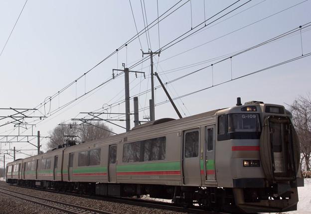 JR 北海道 731系普通電車
