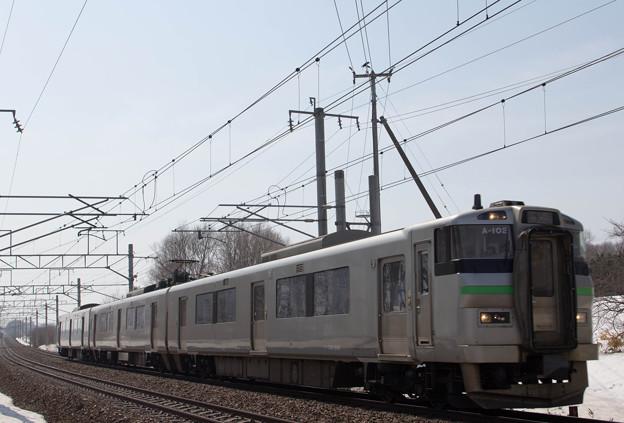 JR北海道 733系普通電車