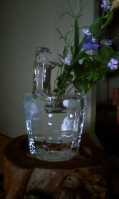 氷の茶会 氷の手桶