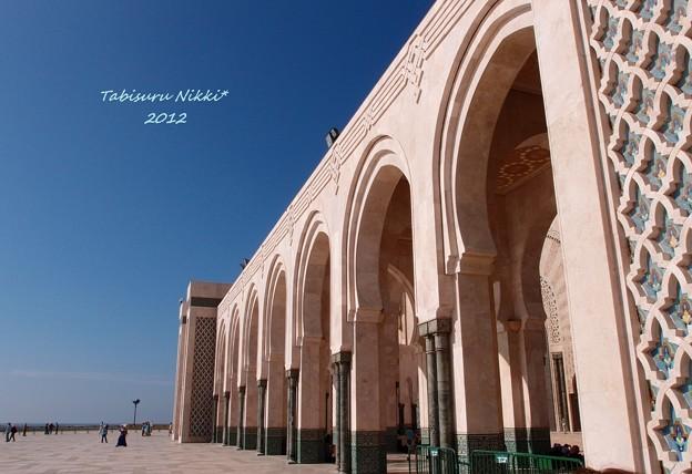 ハッサン2世モスクの真下