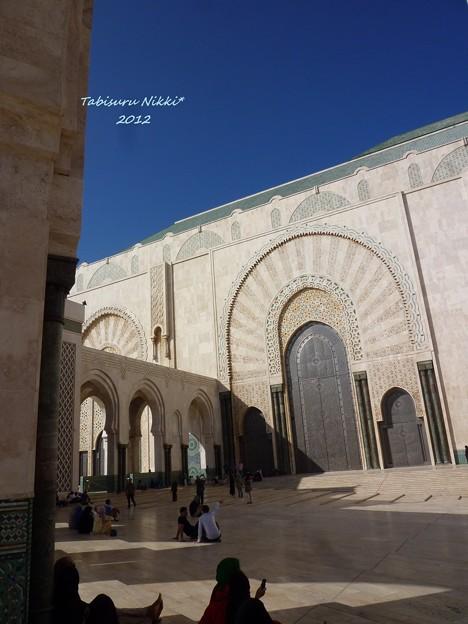 ハッサン2世モスク広場