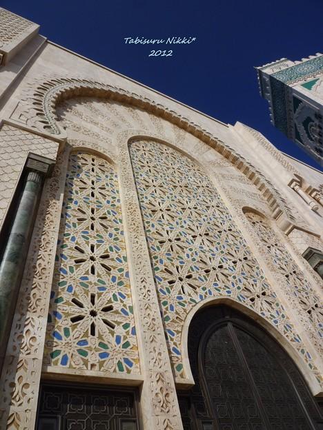 ハッサン2世モスク_彫刻