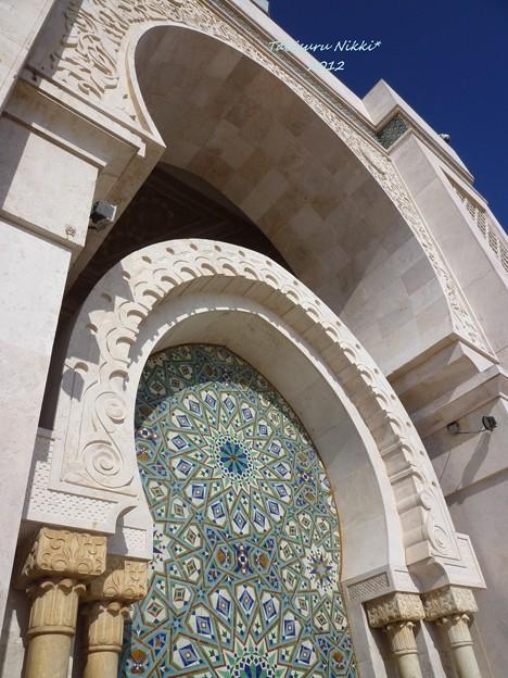 ハッサン2世モスクのモザイク