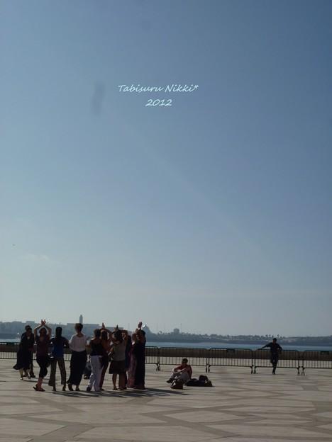 ハッサン2世モスク_広場