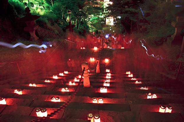 100人のキャンドルナイトin池上本門寺