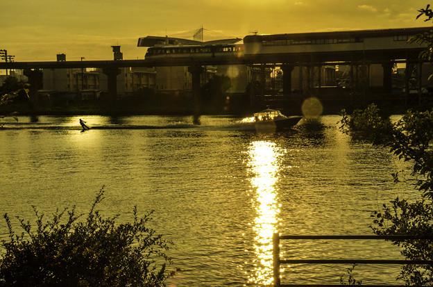 京浜運河夕景