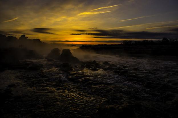 「黎明3」多摩川