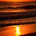 写真: 落日