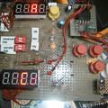 写真: serial port LED display prototype