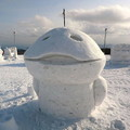 室蘭・第3回雪像ゆきまつり.10