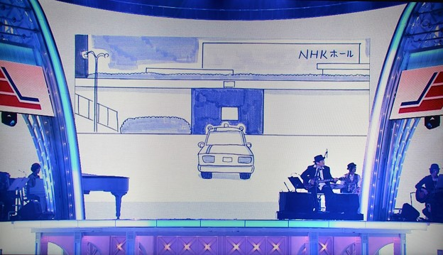 26_NHKホールに到着