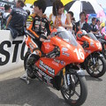 写真: 211  16 亀井 雄大 18 GARAGE RACING TEAM NSF250R 2012