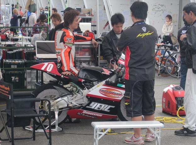 写真: 441 70 葛西 雅迪 タニシ&Speed Heart YERC NSF250R