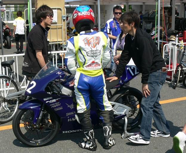 写真: 454 12 薮田 壱速 team hirock & HARC-PRO NSF250R