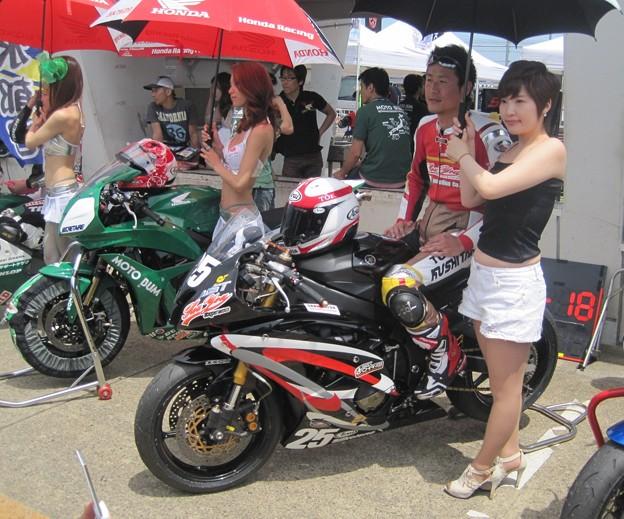 写真: 439  2012 25 清水 直樹 Express Houyou YZF-R6