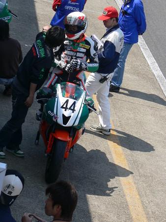 555 2012 44 松川 泰宏 MOTO BUM HONDA CBR600RR