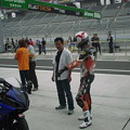 写真: 26_2005_atushi_watanabe_yoshimura_suzuki_jomo_with_srixon_racing_team