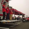 写真: 33_2005_atushi_watanabe_yoshimura_suzuki_jomo_with_srixon_racing_team