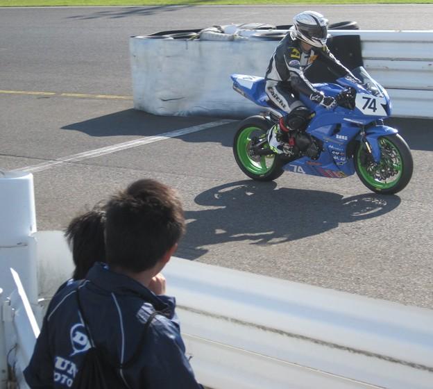 写真: 590 2012 74 澤村 俊紀 レーシングチーム ヒロ CBR600RR