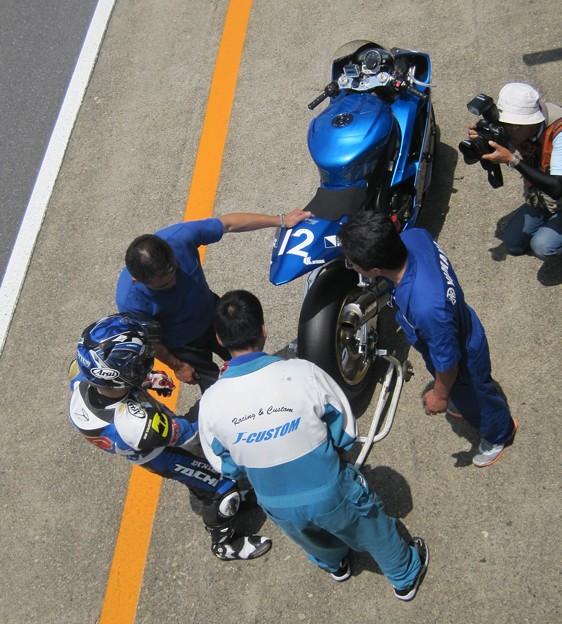 写真: 14 2013 J_GP2 12 中本 郡 レーシングチーム OutRun YZF-R6
