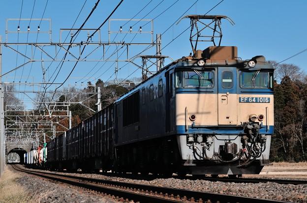 EF641016牽引鹿島貨物76列車