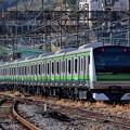 Photos: 逗子駅に向かうE233系配給列車