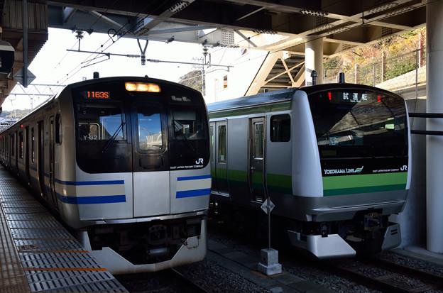 Photos: 217系とE233系