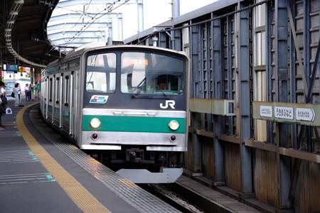 埼京線に乗って・・・